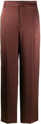 Joseph High-Waisted Wide Leg Trousers