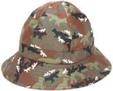 MAISON KITSUNÉ fox camouflage hat