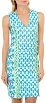 Gretchen Scott Two Timer Aqua Dress