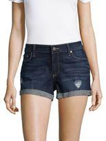 Paige Rolled Denim Shorts