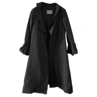 Lanvin Black Wool Coat for Women