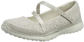Skechers Women Microburst-Pure Cleanse Mary Janes, Beige (Natural), (41 EU)