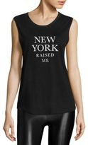 Feel The Piece Tyler Jacobs x NY Raised Me Graphic Tank Top