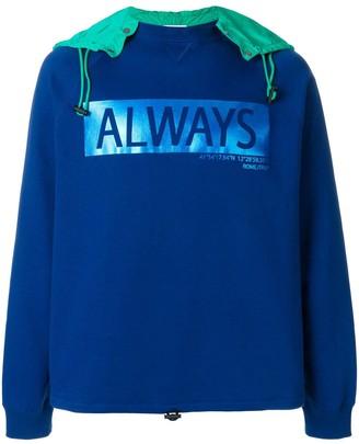 Valentino Always hooded sweatshirt