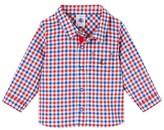 Petit Bateau Baby boys checked shirt