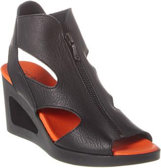 Arche Vahiro Leather Wedge Sandal