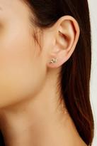Meira T 14K Yellow Gold Zig Zag Peridot Earrings