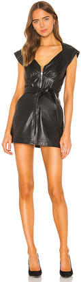 Marissa Webb Ryland Leather Dress