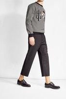 Dolce & Gabbana Printed Sweatshirt with Appliqué