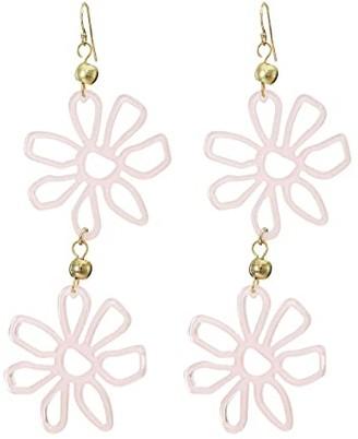 Vanessa Mooney Desert Flower Earrings (Pink) Earring