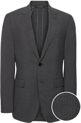 Banana Republic Slim Smart-Weight Performance Suit Jacket