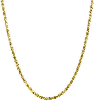 10K Gold Solid Rope Chain Necklace Family