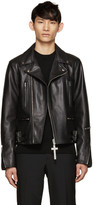 Givenchy Black Leather Biker Jacket