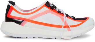 adidas by Stella McCartney Neon-trimmed Neoprene And Mesh Sneakers