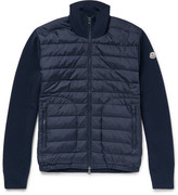 Moncler Wool-blend And Quilted Shell Down Jacket
