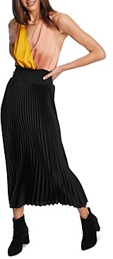 1 STATE 1.state Sleeveless Color-Block Maxi Dress