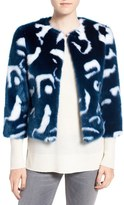 Ted Baker Women's Marble Faux Fur Jacket