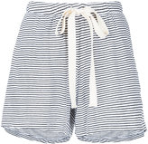 Bassike stripe jersey mini shorts