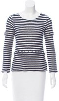 Gryphon Striped Long Sleeve Sweater
