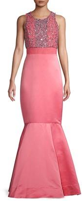 Parker Black Grace Embellished Mermaid Gown
