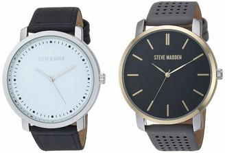 Steve Madden Fashion Watch (Model: SMWS068BK-GY)