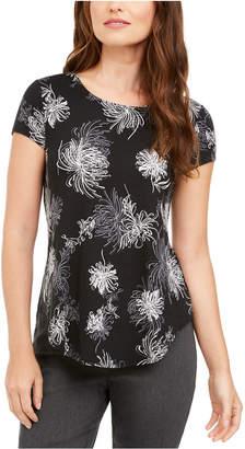 Alfani Printed T-Shirt