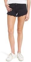 Blank NYC Women's Blanknyc Pucker Up Fray Hem Cutoff Denim Shorts