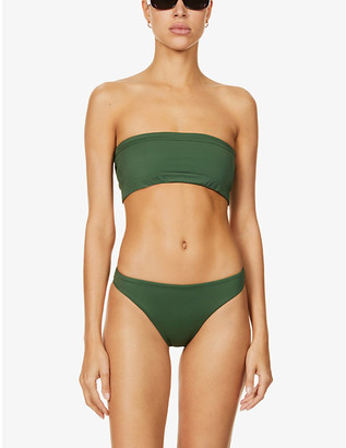 Stay Wild Swim The Bandeau bikini top