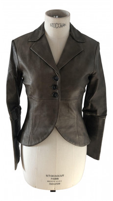 Non Signã© / Unsigned Gold Leather Jackets