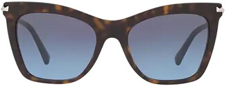 Valentino Cat-Eye Frame Sunglasses