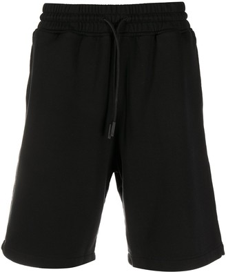 Marcelo Burlon County of Milan Drawstring Cotton Shorts