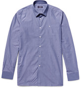 Raf Simons - Blue Striped Cotton-poplin Shirt