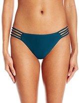 O'Neill Women's Lux Solids Multi Strap Bikini Bottom