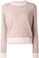 Chloé knitted sweater - women - Wool/Mohair/Acrylic/Cashmere - M