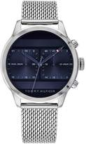 Tommy Hilfiger Tommy Hilfiger Icon Blue Multi Dial Stainless Steel Mesh Bracelet Mens Watch