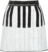 Dolce & Gabbana short piano skirt - women - Silk/Spandex/Elastane/plastic/glass - 38