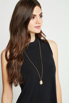 BCBGeneration Initial Locket Necklace - Gold
