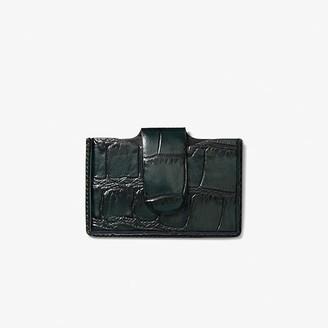 M.M. LaFleur The Business Card Case-Embossed Croc