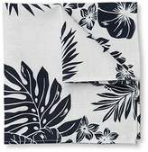 Jeff Banks Tropic Floral Pocket Square