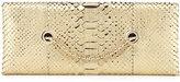 Tom Ford Python Chain Clutch Bag, White Gold