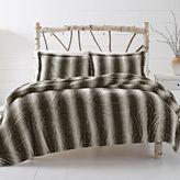Leena Reversible Cozy Faux Fur Comforter Set in Grey