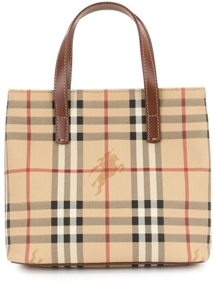 Burberry Pre-Owned Horse check tote bag