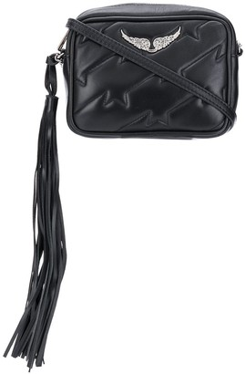 Zadig & Voltaire Tassel-End Quilted Cross-Body Bag