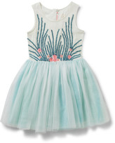 Billieblush Billie Blush Girls Sequin Tulle Dress