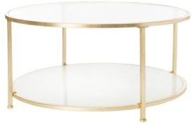 Safavieh Ivy 2-Tier Round Coffee Table