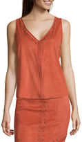 Bisou Bisou Sleeveless Studded Top