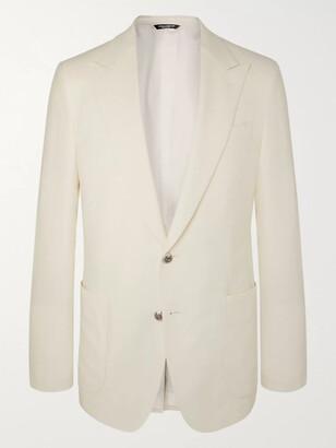 Dolce & Gabbana Martini Slim-Fit Cashmere And Silk-Blend Blazer