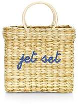 Poolside Women's Small Structured Jet Set Beach Tote
