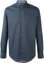 Pal Zileri fine print shirt - men - Cotton - 39