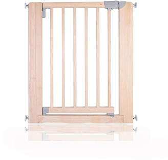 Safetots Chunky Wooden Pressure Fit Child and Pet Gate (Natural, 74-81cm)